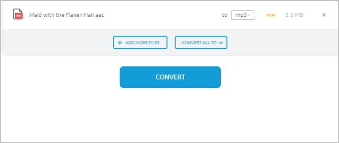 How to Convert AAC to MP3 - Open MP3 Converter Software