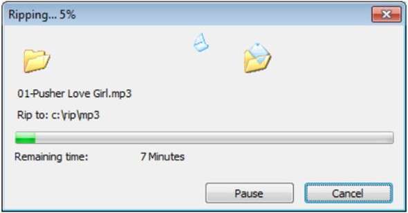 Convert CD to MP3 - Start Converting CD to MP3