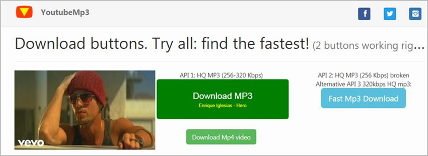 How to Download Just Audio from Video Sites - Select MP3 for Output