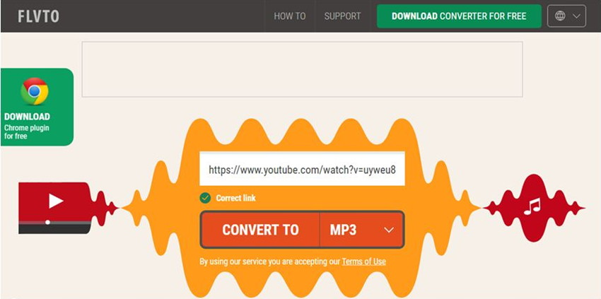 How to Turn a Link into MP3 - Choose MP3 as Output