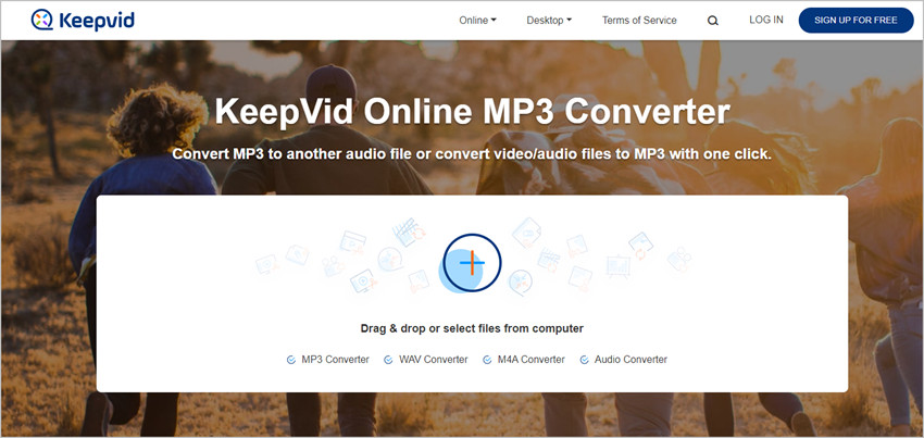 How to Use KeepVid Online MP3 Converter - Visit Website
