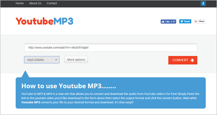 Best MP3 Converters - YouTubemp3