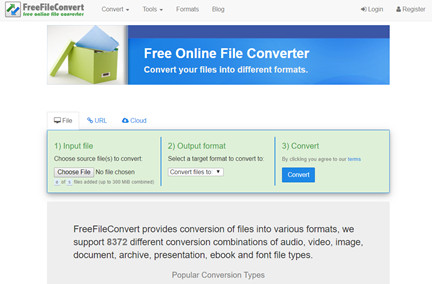 Most Helpful MP4 Converters Online - Free File Converter