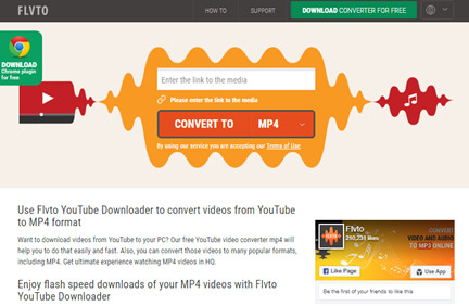 3 Helpful YouTube to MP4 Converter Online - FLVTO